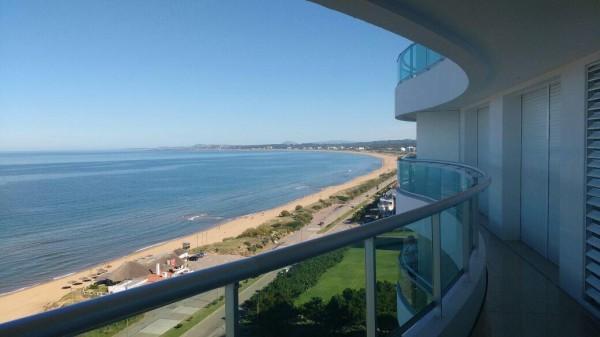 punta del este, torre aquarela, sobre la mansa, vista al mar y servicios. - dbp41044a